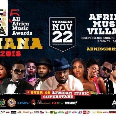 5th AFRIMA 2018 Ghana