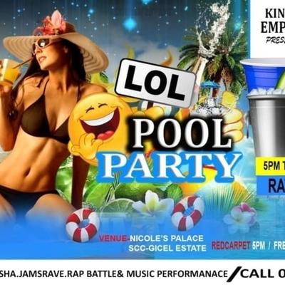 LOL Pool Party & Jams Guest Artist Cheeta