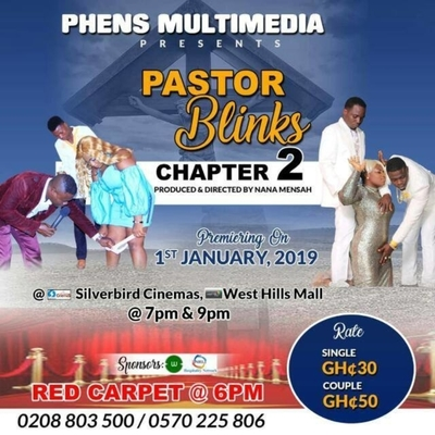 Pastor Blinks (Chapter 2) Movie Premier