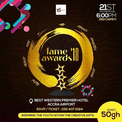 Fashion, Arts, Music & Entertainment Awards 2018