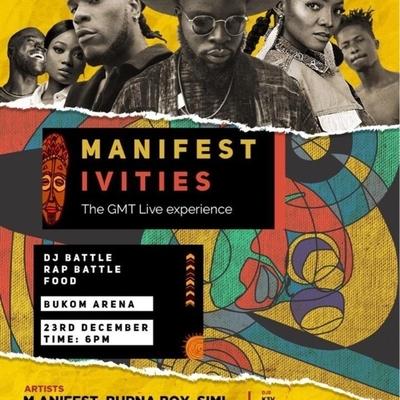 Manifestivities 2018: GMT Live Experience