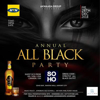 ALL BLACK PARTY 2018