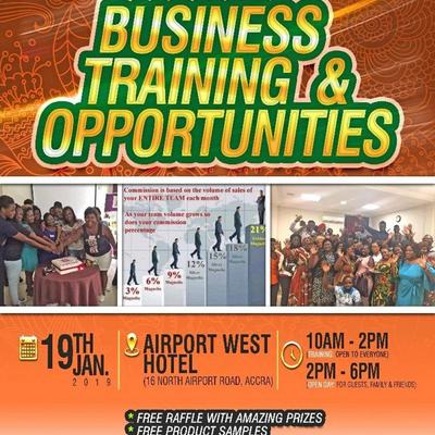 Business Opportunity Open Day Earn Extra Income in Ghana!!!