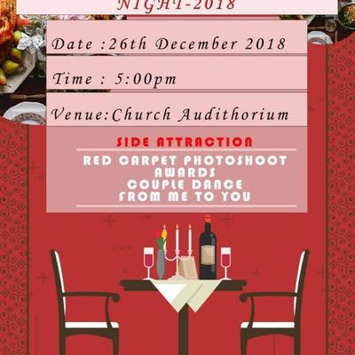 THE ROYAL FEAST AND AWARDS NIGHTS 2018