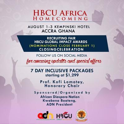 HBCU Africa Homecoming