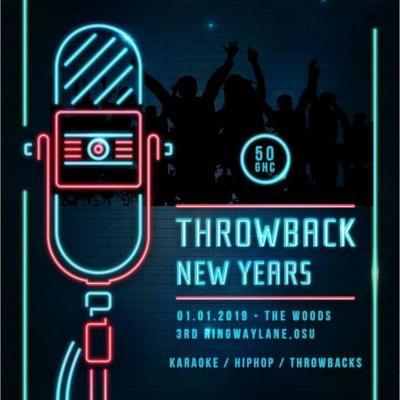 Throwback News Year (Old School Hiphop and Karaoke)