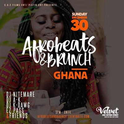 AFROBEATS & BRUNCH - GHANA