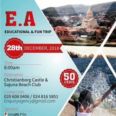 E.A fun & educational trip