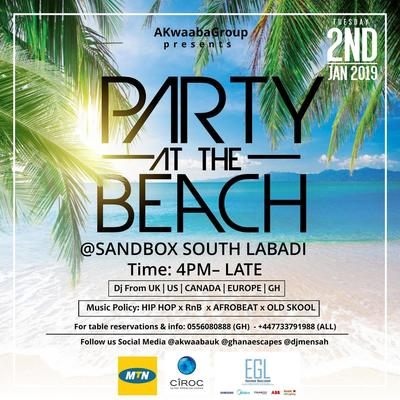 PARTY AT THE BEACH 2019