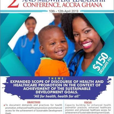 GHANA 2019 - 2ND INTERNATIONAL NURSING AND MIDWIFERY LEADERSHIP CONFERENCE