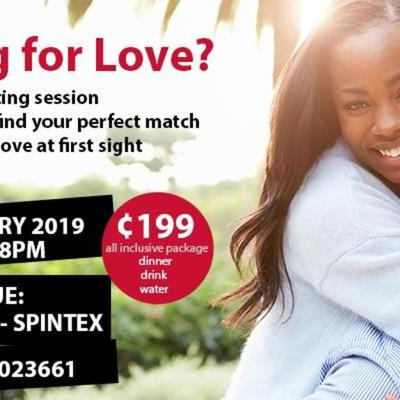 Find love with speed dating