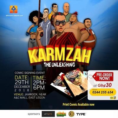 KARMZAH - Comic Signing Event