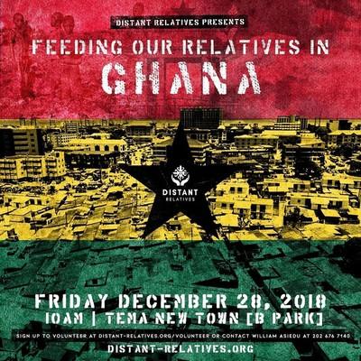 Feeding Our Relatives in Ghana