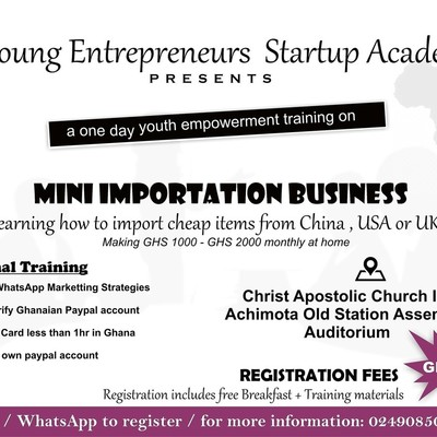 MINI IMPORTATION BUSINESS TRAINING