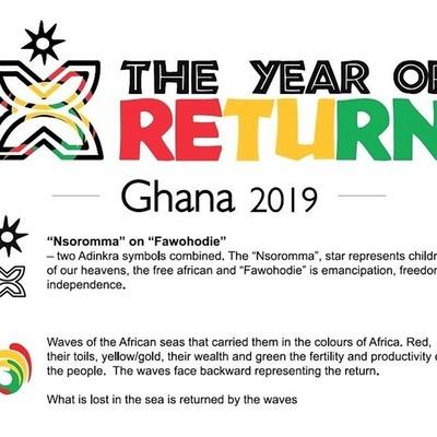 2019: Year of return for African Diaspora