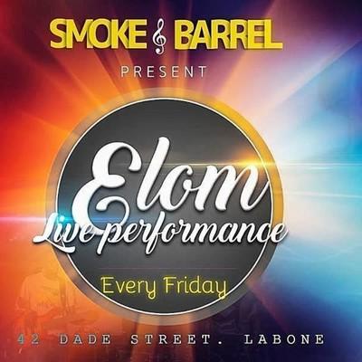 ELOM live music performance at smoke 'n barrel