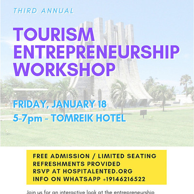 3rd Annual Tourism Entrepreneurship Workshop