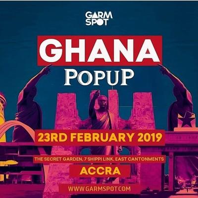 Ghana Popup