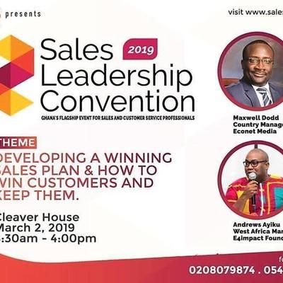 Sales Leadership Convention 2019