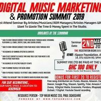 Digital Music Marketing, Promotion & Income Seminar
