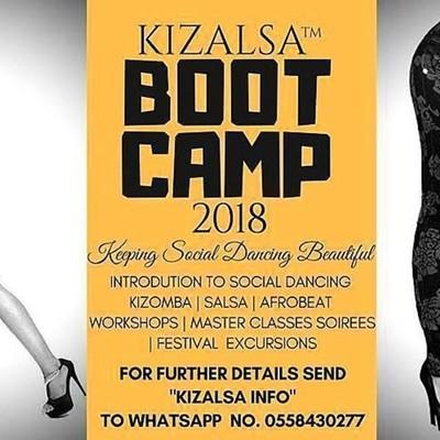 Kizalsa™ Super Afro Latin Boot Camp 2018/19