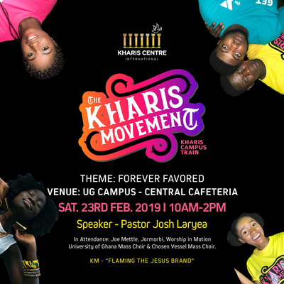 KHARIS MOVEMENT CAMPUS TRAIN   FOREVER FAVORED CONFERENCE