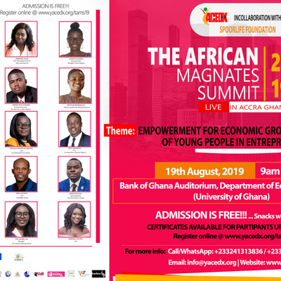 THE AFRICAN MAGNATES SUMMIT 2019