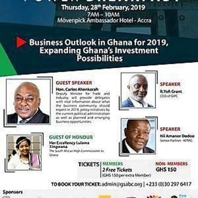 GSABC Business Breakfast 2019