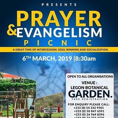 Prayer & Evangelism Picnic