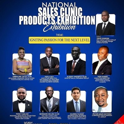 SALES CLINIC & PRODUCTS EXHIBITION