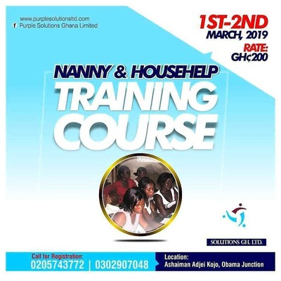 Nanny & Househelp Training Course