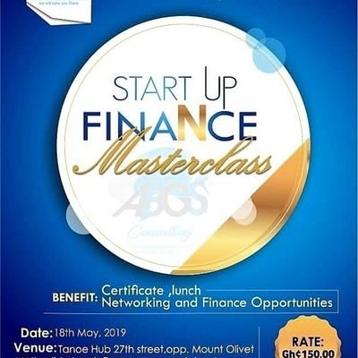 START UP FINANCE MASTERCLASS