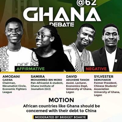Ghana @ 62 Debate