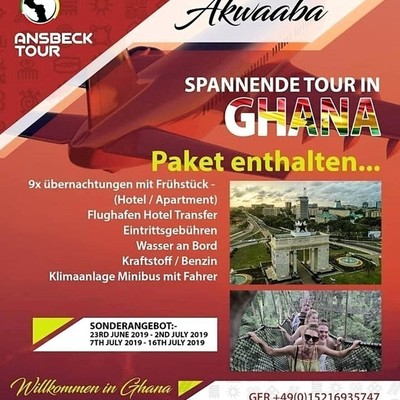 Exciting Tour In Ghana