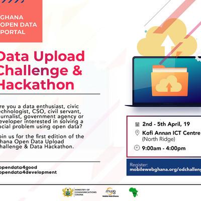 Ghana Open Data Upload Challenge & Data Hackathon.