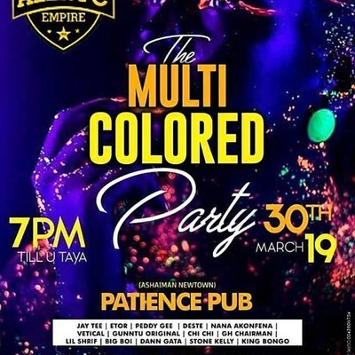 Multicolored Party