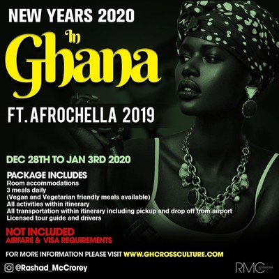 New Years 2020 Ft. Afrochella 2019