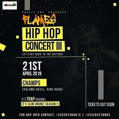 Flames Hip Hop Concert III