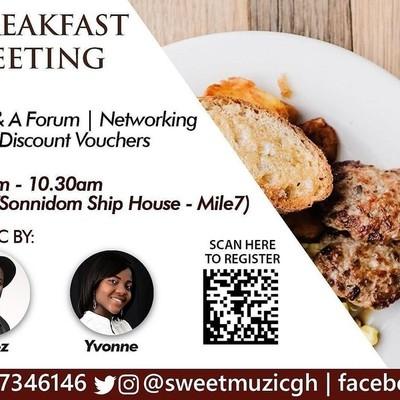 Sweet Muzic Breakfast Meeting