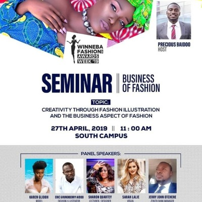 Seminar Winneba Fashion Week Awards'19