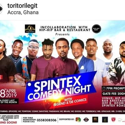 Spintex Comedy Night