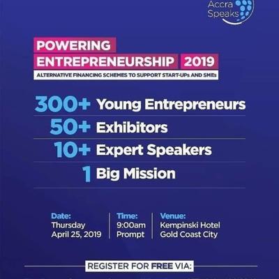 Powering Entrepreneuship 2019