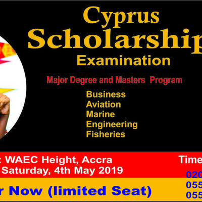 Cyprus Scholarship Examination (Study Abroad)