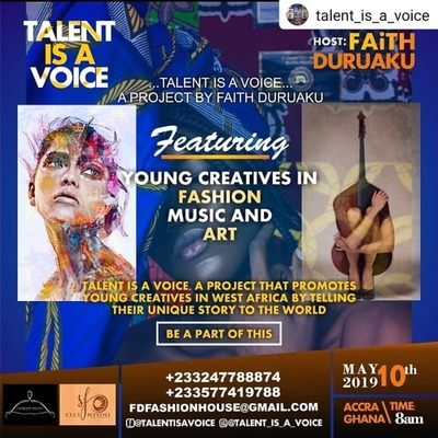 TALENT IS A VOICE