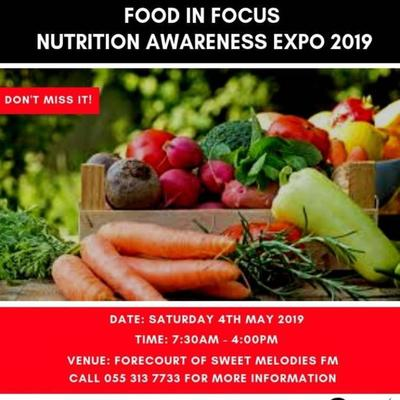 Food in Focus Nutrition Awareness Expo 2019