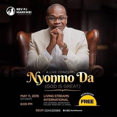 Nyonmo Da - A Live Concert with Rev PJ MARKWEI