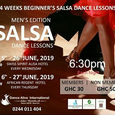 Beginner's Salsa Lessons - Men's Edition