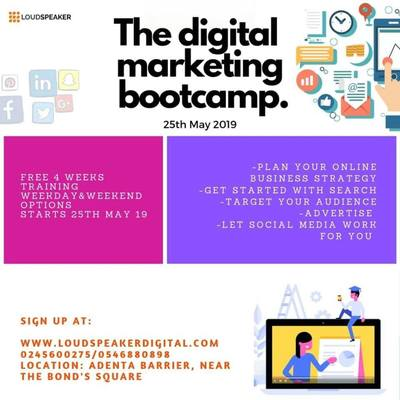 The Digital Marketing Bootcamp