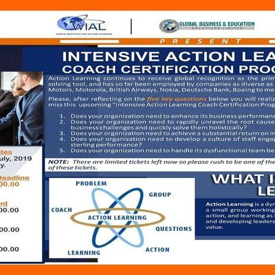 INTENSIVE ACTION LEARNING COACH CERTIFICATION PROGRAMME