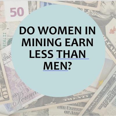 Do women in mining earn less than men?